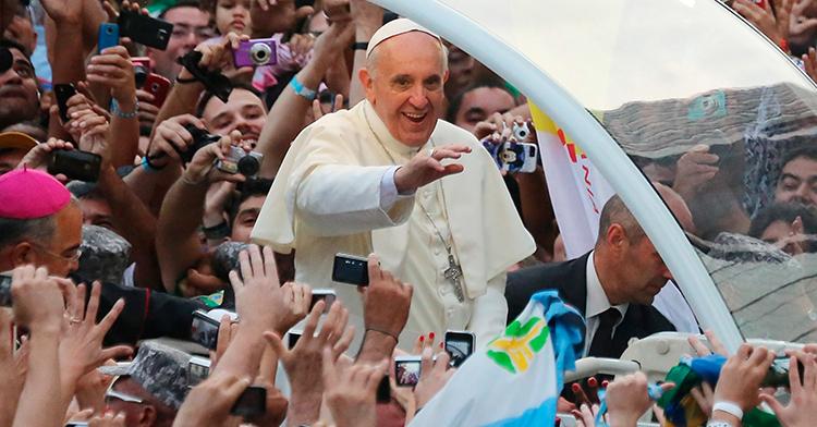 Papa Francisco y el Sagrado Corazón de Jesús (Pope Francis and he Heart of Jesus )